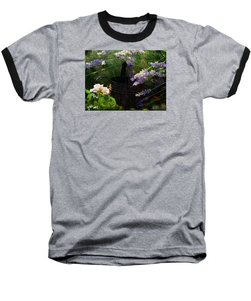 Spring Rain Baseball T-Shirt