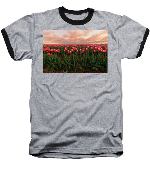 Spring Rainbow Baseball T-Shirt