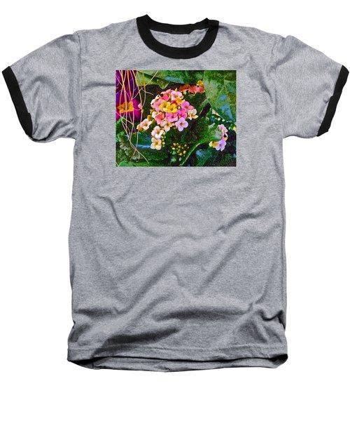 Spring Show 12 Baseball T-Shirt by Janis Nussbaum Senungetuk