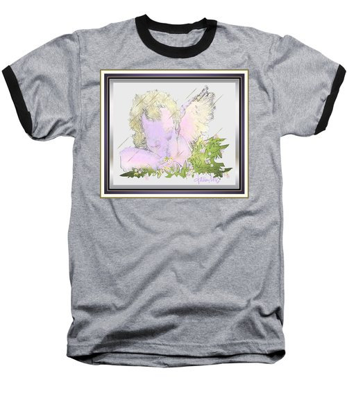 Spring Shower Slumber Baseball T-Shirt