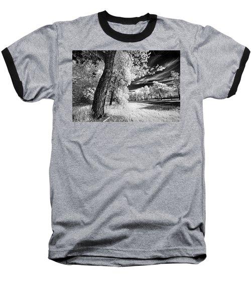 Baseball T-Shirt featuring the photograph Spring Sky by Dan Jurak