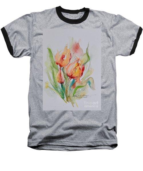 Spring Smiles Baseball T-Shirt