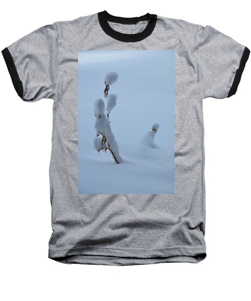 Spring Snow Baseball T-Shirt