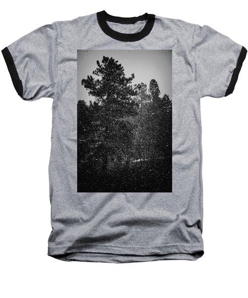 Spring Snowstorm Baseball T-Shirt