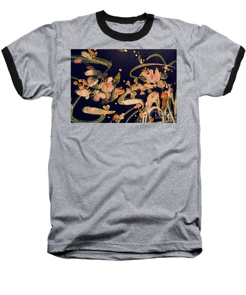 Spring Song Baseball T-Shirt by Nancy Kane Chapman