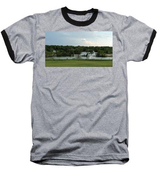 Spring Splendor Baseball T-Shirt by Sylvia Thornton