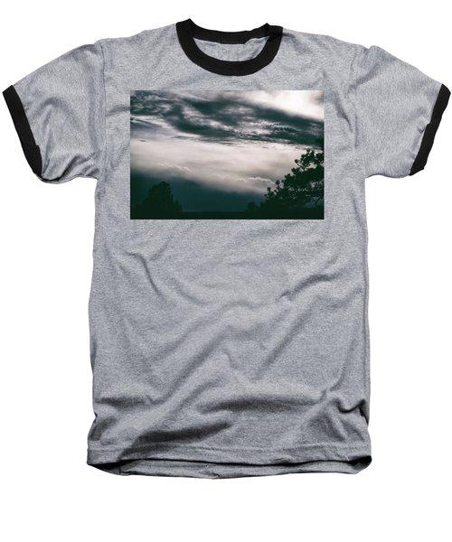 Spring Storm Cloudscape Baseball T-Shirt
