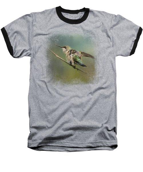 Spring Storm Hummingbird Baseball T-Shirt