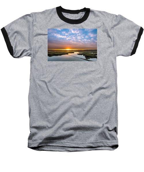 Spring Sunrise On Arcata Bay Baseball T-Shirt by Greg Nyquist