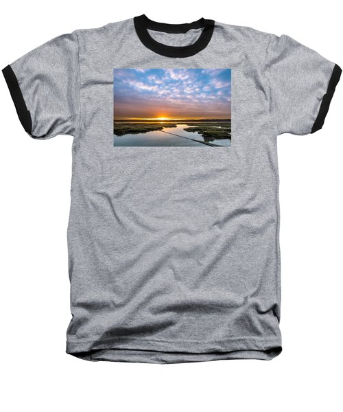 Spring Sunrise On Arcata Bay Baseball T-Shirt
