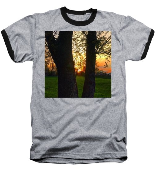 Spring Sunset 2018 Baseball T-Shirt
