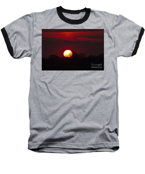 Spring Sunset Baseball T-Shirt
