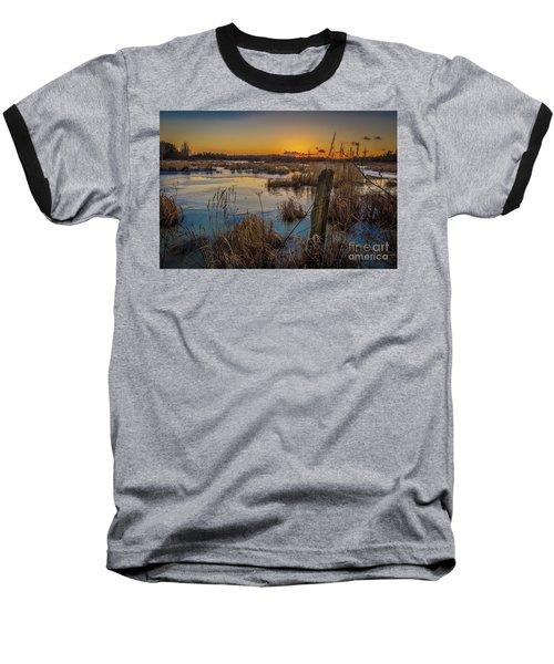 Spring Sunset Baseball T-Shirt