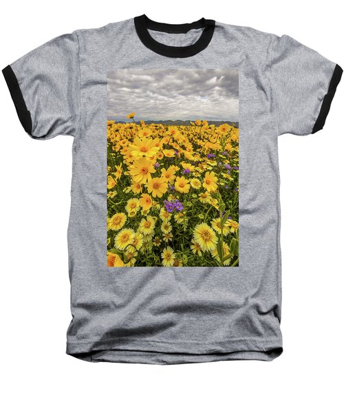 Baseball T-Shirt featuring the photograph Spring Super Bloom by Peter Tellone