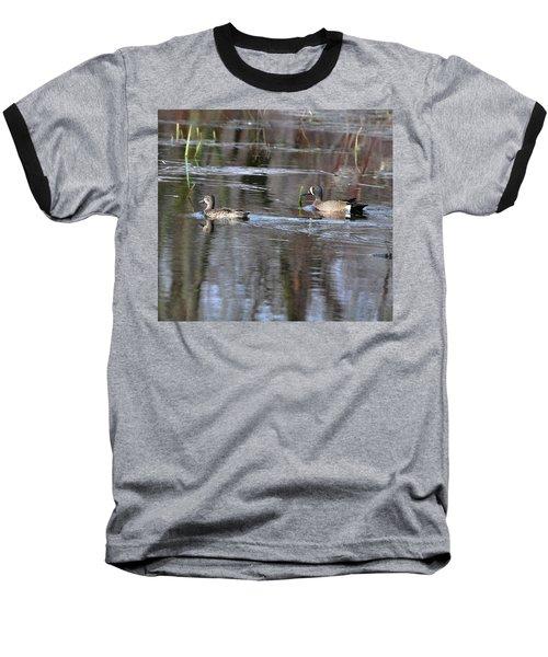 Spring Teal Baseball T-Shirt