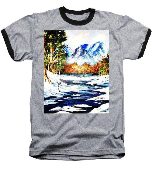 Spring Thaw Baseball T-Shirt by Al Brown