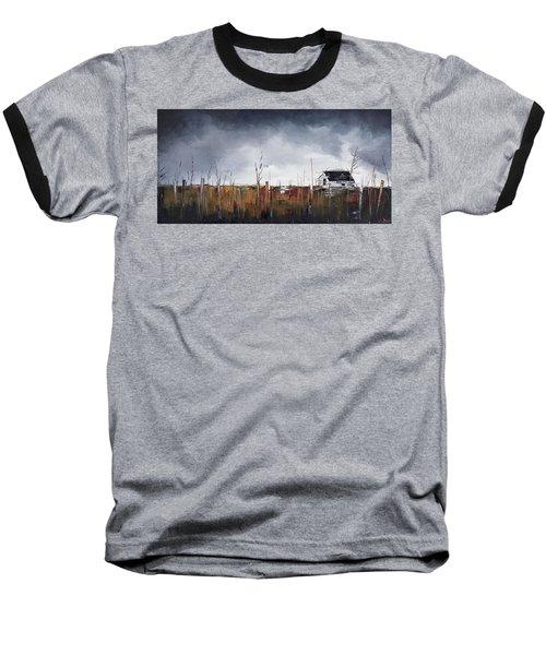 Spring Thaw Baseball T-Shirt by Carolyn Doe