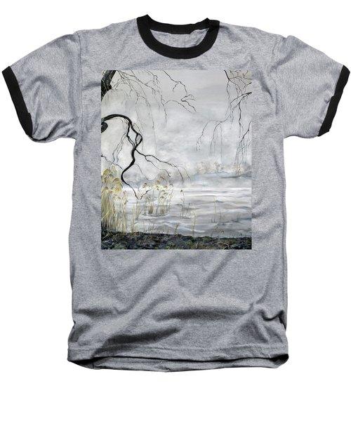 Spring Thaw On Misty Grenadier Pond Baseball T-Shirt