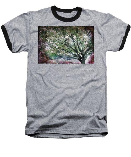 Spring Tree Baseball T-Shirt by Gray  Artus