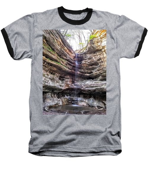 Baseball T-Shirt featuring the painting Spring Trickling In by Darren Robinson