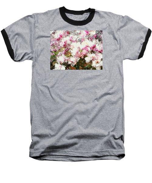 Spring Tulip Tree Baseball T-Shirt