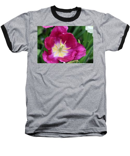 Spring Tulips 47 Baseball T-Shirt