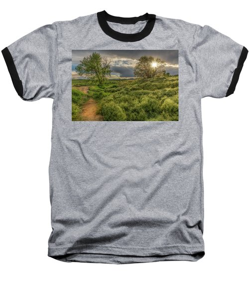 Spring Utopia Baseball T-Shirt