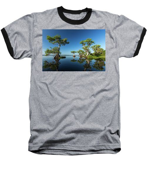 Spring Vistas At Lake Disston Baseball T-Shirt