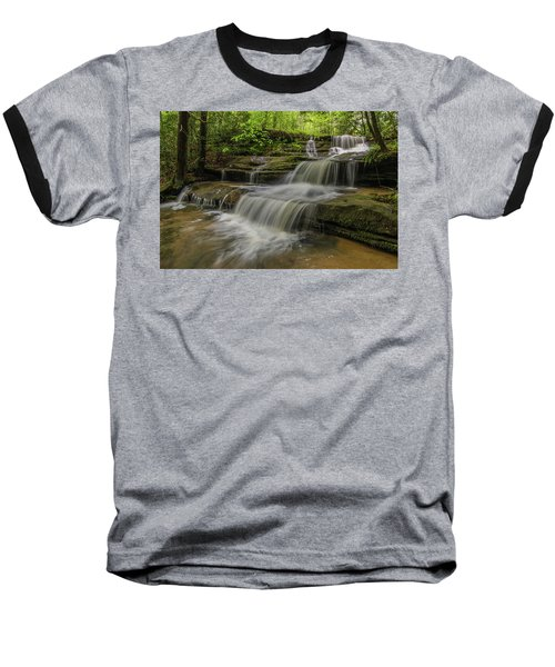 Spring Waterfall. Baseball T-Shirt