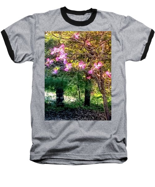 Baseball T-Shirt featuring the digital art Spring Will Come by Robin Regan