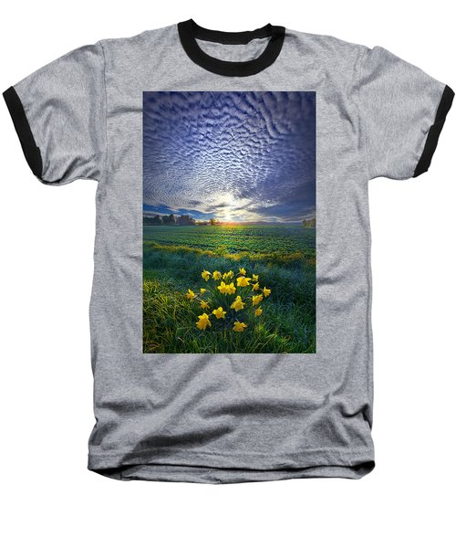Springing To Life Baseball T-Shirt