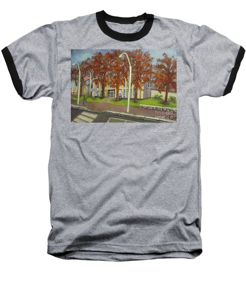 Springtime At Waltham Police Station Baseball T-Shirt