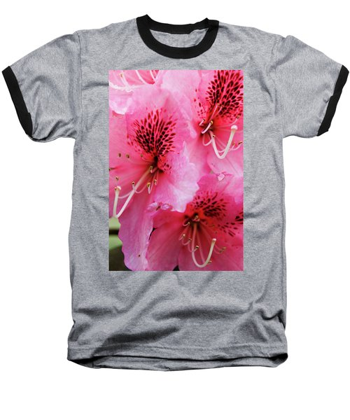 Springtime Azalea Baseball T-Shirt