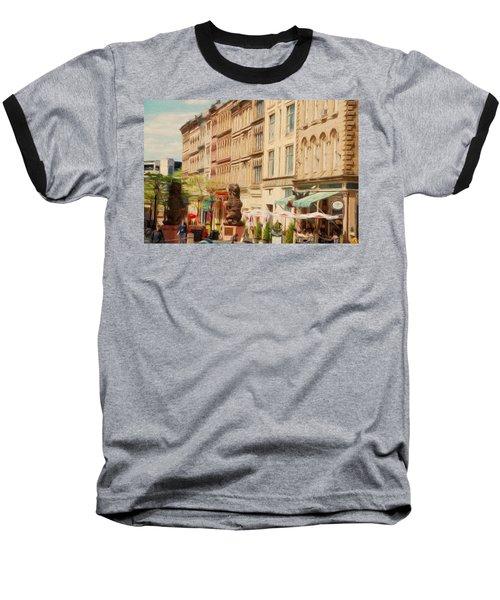 Springtime In Halifax Baseball T-Shirt