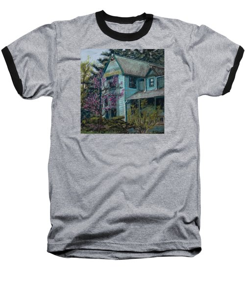 Springtime In Old Town Baseball T-Shirt