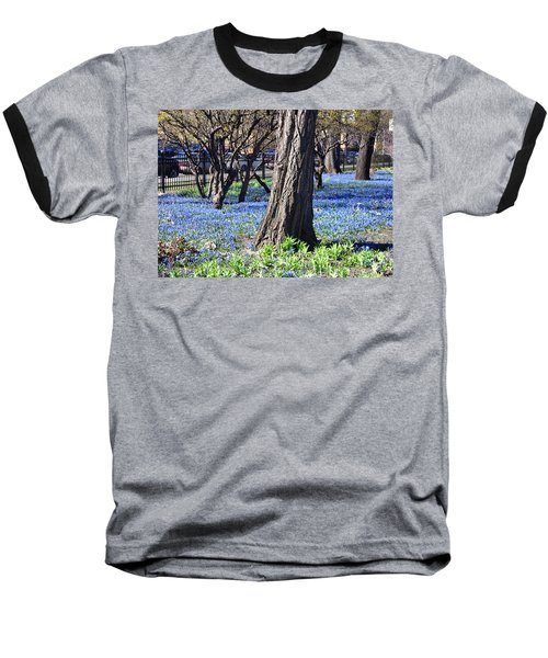 Springtime In The City Baseball T-Shirt