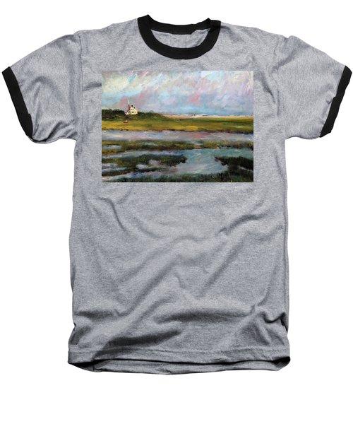 Springtime In The Marsh Baseball T-Shirt by Michael Helfen