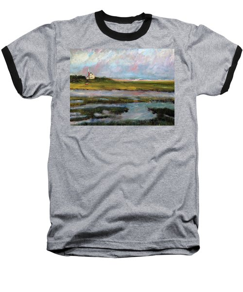 Springtime In The Marsh Baseball T-Shirt