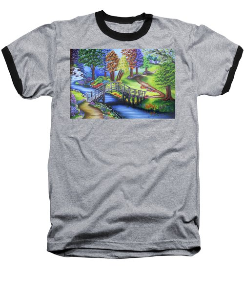 Springtime In The Park Baseball T-Shirt
