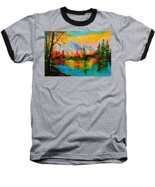 Springtime Reflections Baseball T-Shirt