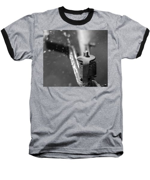 Baseball T-Shirt featuring the photograph Sprinkler by Wade Brooks