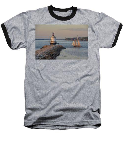 Sprint Point Ledge Sails Baseball T-Shirt