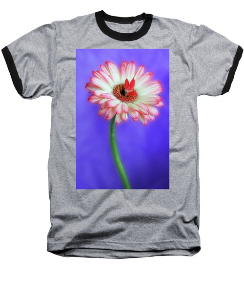 Sprouting Dahlia Baseball T-Shirt