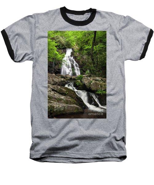 Baseball T-Shirt featuring the photograph Spruce Flats Falls - D009919 by Daniel Dempster