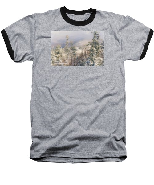 Spruce Peak Summit At Sunday River Baseball T-Shirt