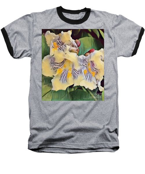 Baseball T-Shirt featuring the photograph Spun Gold by Kathie Chicoine