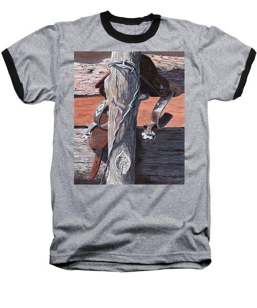 Spurs Needing Boots Baseball T-Shirt