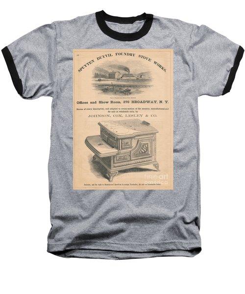 Spuyten Duyvil Stoveworks  Baseball T-Shirt