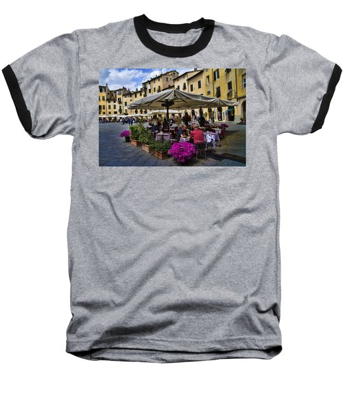 Square Amphitheater In Lucca Italy Baseball T-Shirt