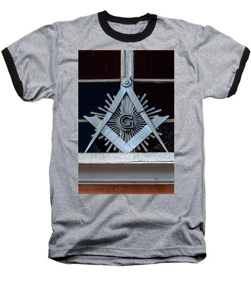 Square And Compass Baseball T-Shirt